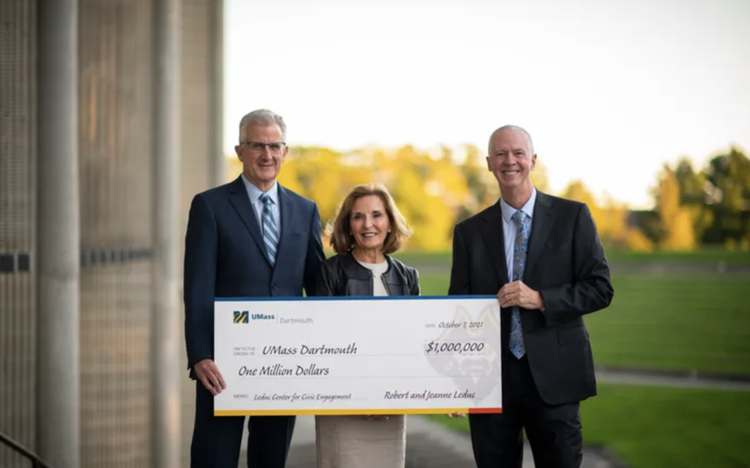 UMass Dartmouth receives $1M gift from Robert and Jeanne Leduc to support community engagement